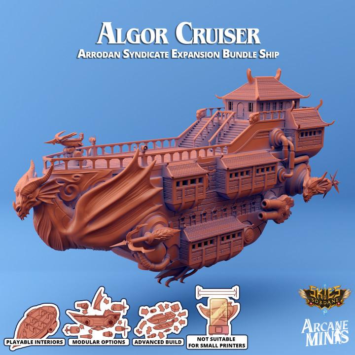 Airship - Algor Class Cruiser's Cover