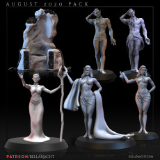 The Drow   August 2020 Patreon Pack
