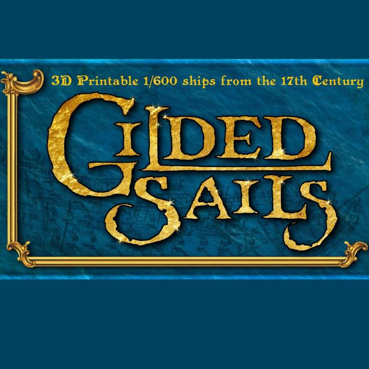 Gilded Sails: The Full Range's Cover