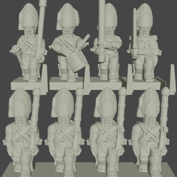 6-15mm Saxon Grenadier Battalion (1806)'s Cover