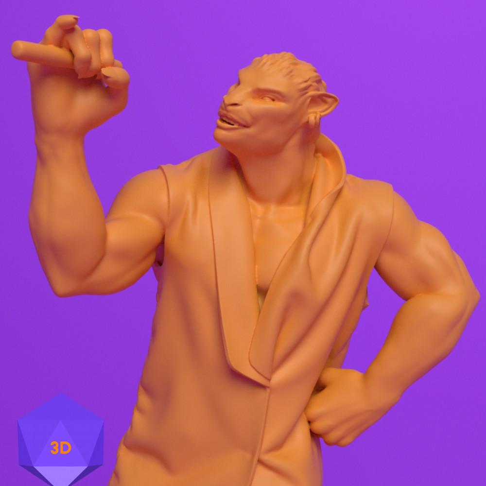 1000x1000 mini 3d files josh clithero stl 3d prints printer dnd dungeons and dragons miniature fighter paladin rogue cleric barbarian wizard warrior sorcerer warlock bard monk npc character close