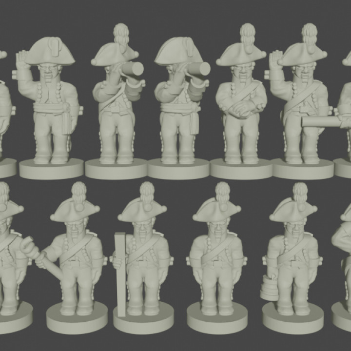 6-15mm Saxon Foot Artillery Crew (1806)'s Cover