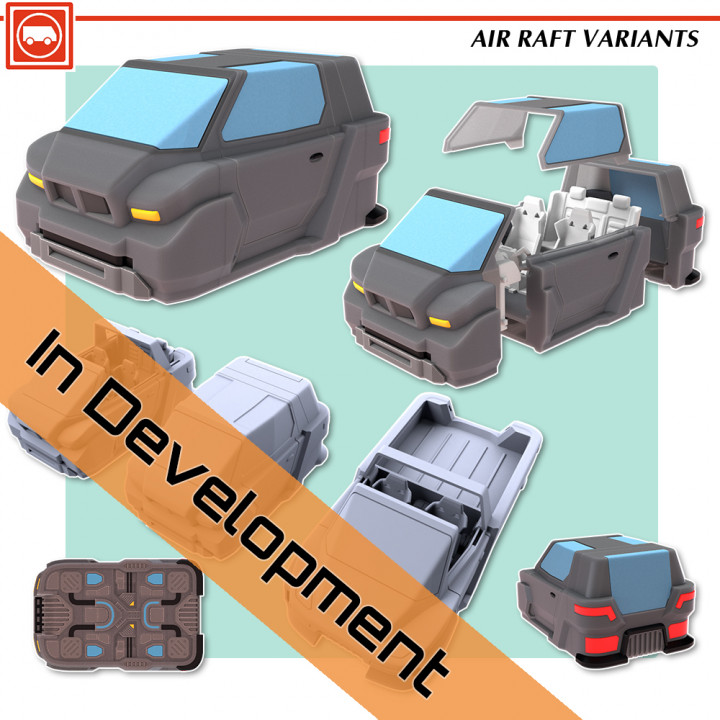 Air Raft Variants's Cover