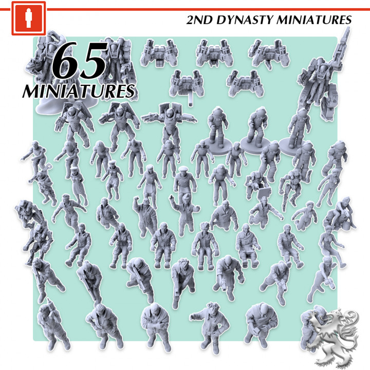 2nd Dynasty Miniatures's Cover