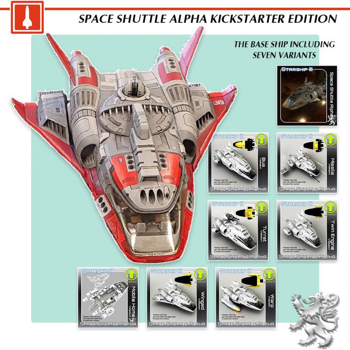 Shuttle Alpha KS Edition's Cover