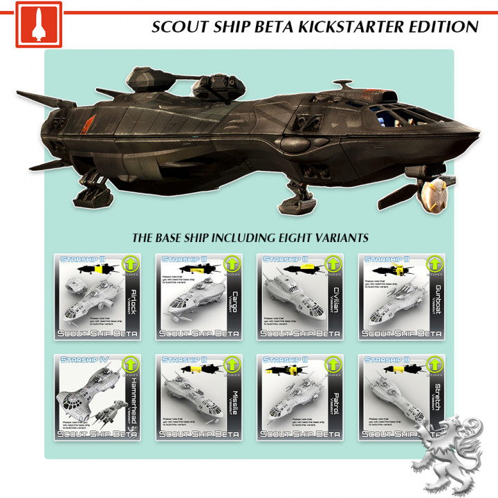 Scout Ship Beta KS Edition's Cover