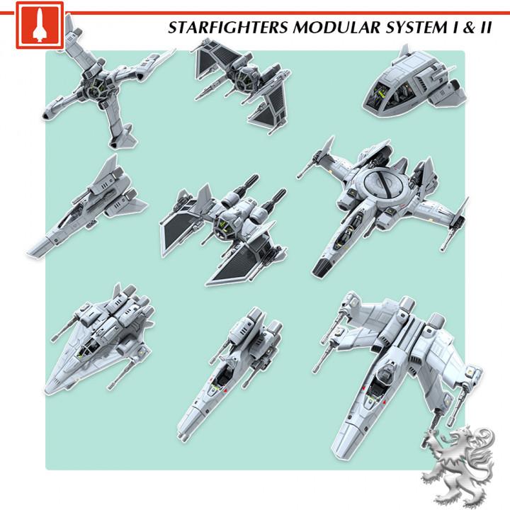 Starfighter I & II's Cover