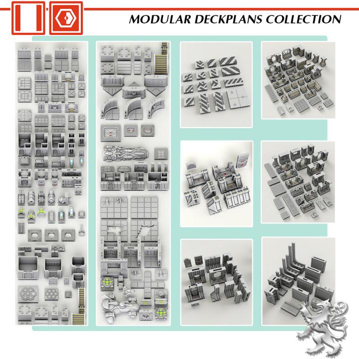 Modular Deckplans Collection's Cover