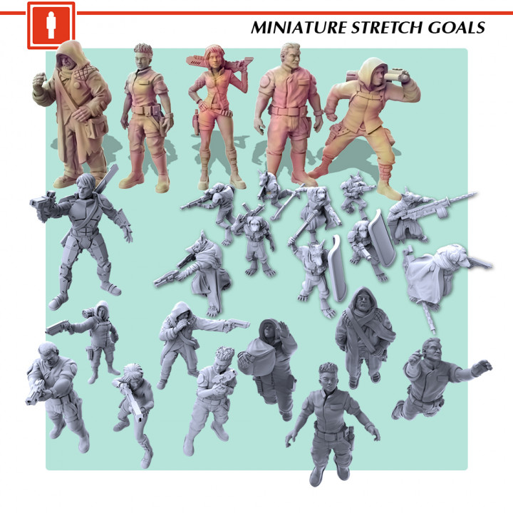 Character Miniatures Stretch Goals's Cover