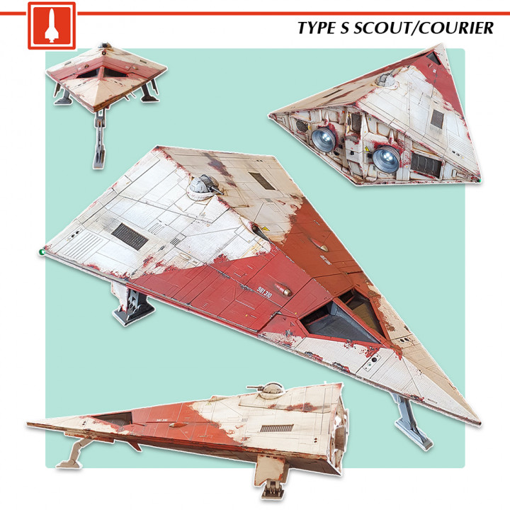 Type S Scout/Courier's Cover