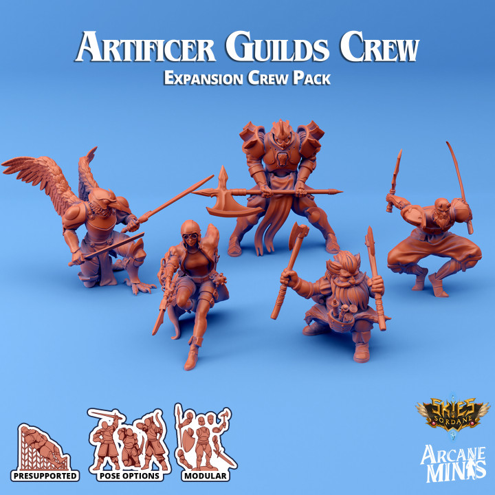 Artificer Guilds - Expansion Crew's Cover