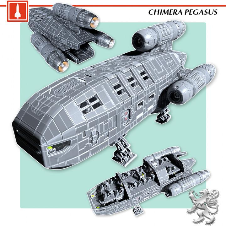 Chimera Pegasus's Cover