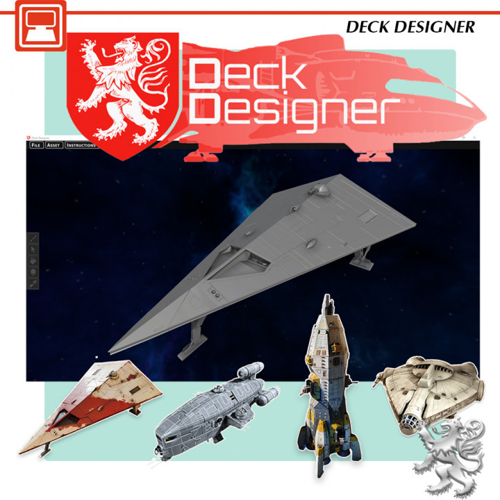 Deck Designer's Cover