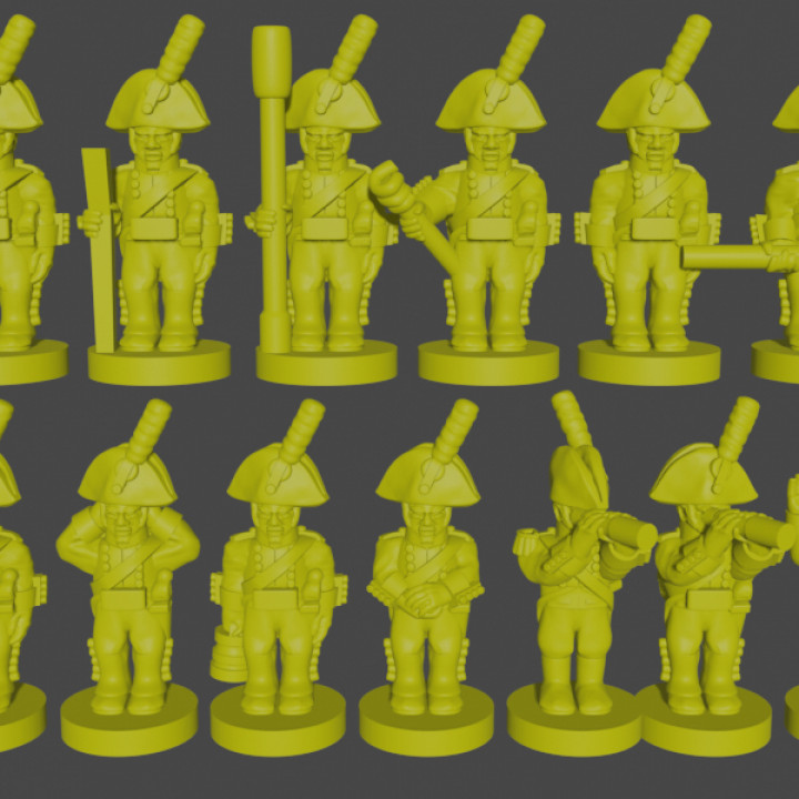 6-15mm Spanish Foot Artillery Crew (1808)'s Cover