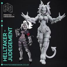 Helltaker - Judgement - 25cm - Fanart