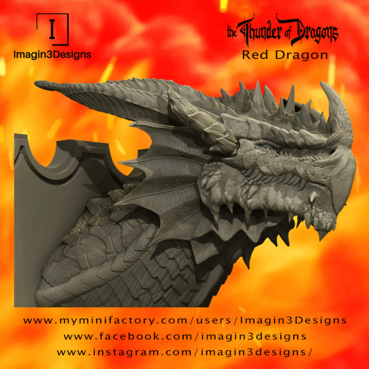 Jaxerd'kilmed - The Lord of the Seven Peaks- The Red Dragon's Cover