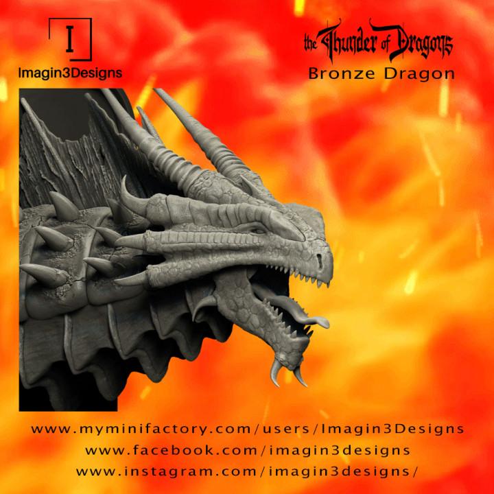 Kithon'dathix -Rohkodur Bronzebuckle- The Bronze Dragon's Cover