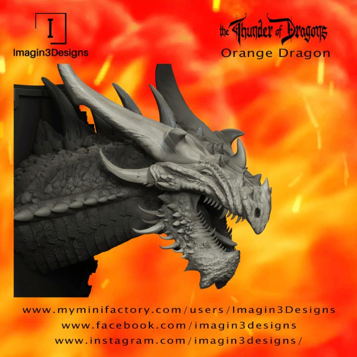 Vesx'kilmed -The Corrupted- the Orange Dragon's Cover