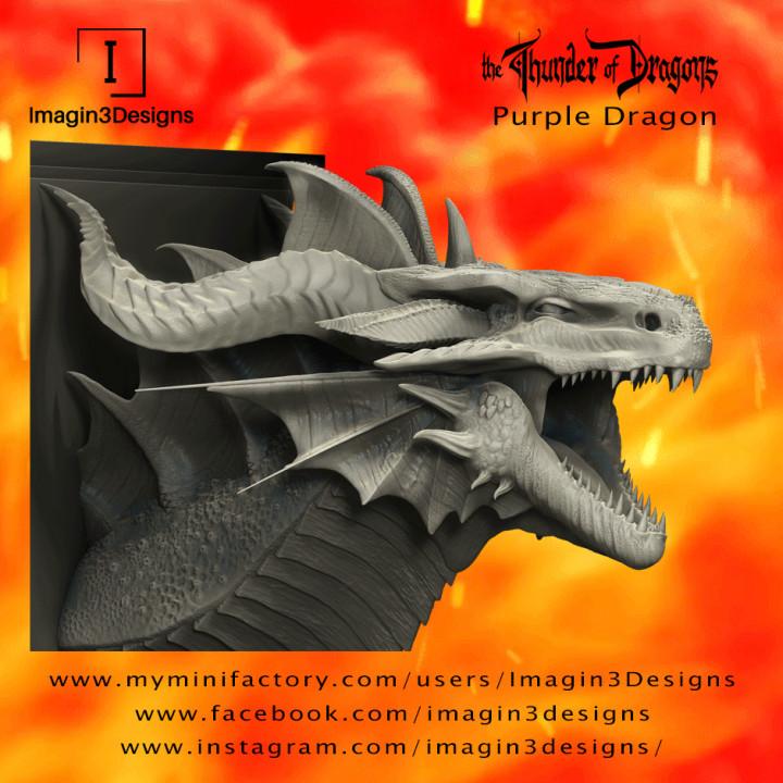 Venix'aitrix -The Curse of Iodel- The Purple Dragon's Cover