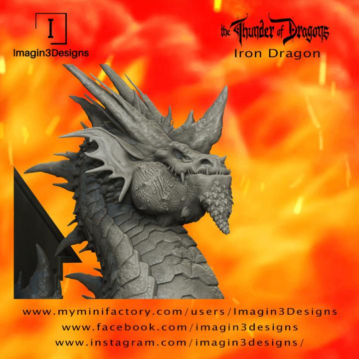 Brix'abilax -The Dominate- The Iron Dragon's Cover