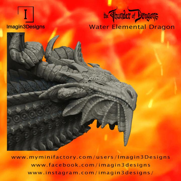 Gilk'shendiz -The Tears of Ataxia- The Water Elemental Dragon's Cover