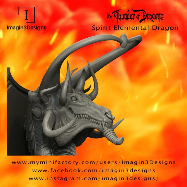 Jun'hildax -The Tumultuous Energy- The Spirit Elemental Dragon's Cover