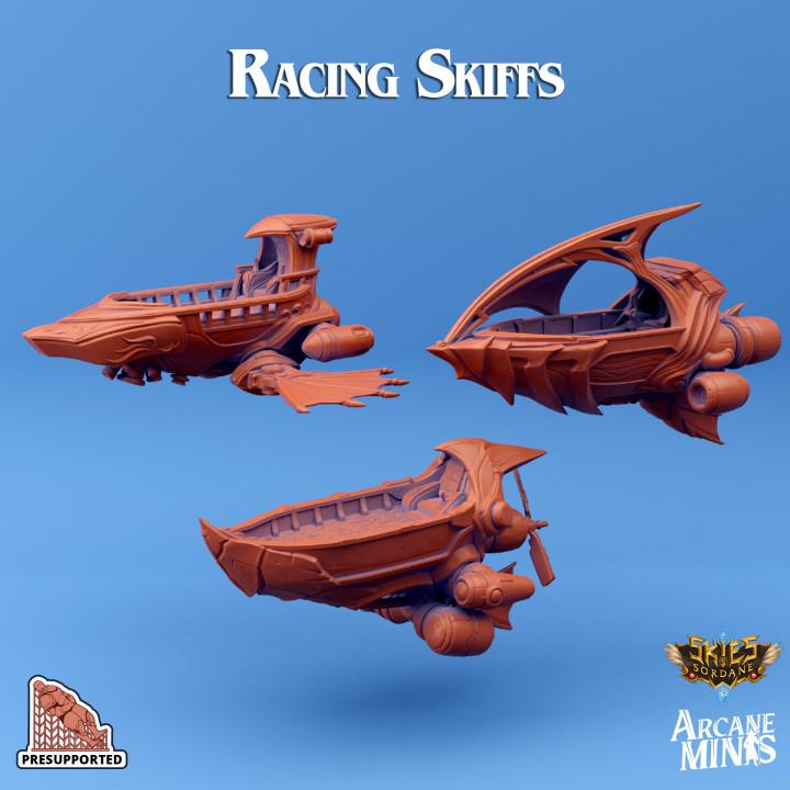 Racing Skiff - 3 Pack's Cover