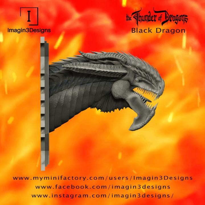 PRE-SUPPORTED Midix'soreth -The Bone Warden- The Black Dragon's Cover