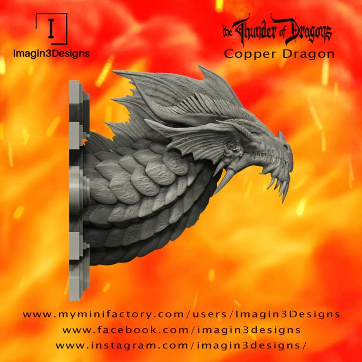 PRE-SUPPORTED Shaxix'thunold -The Titian Champion- The Copper Dragon's Cover