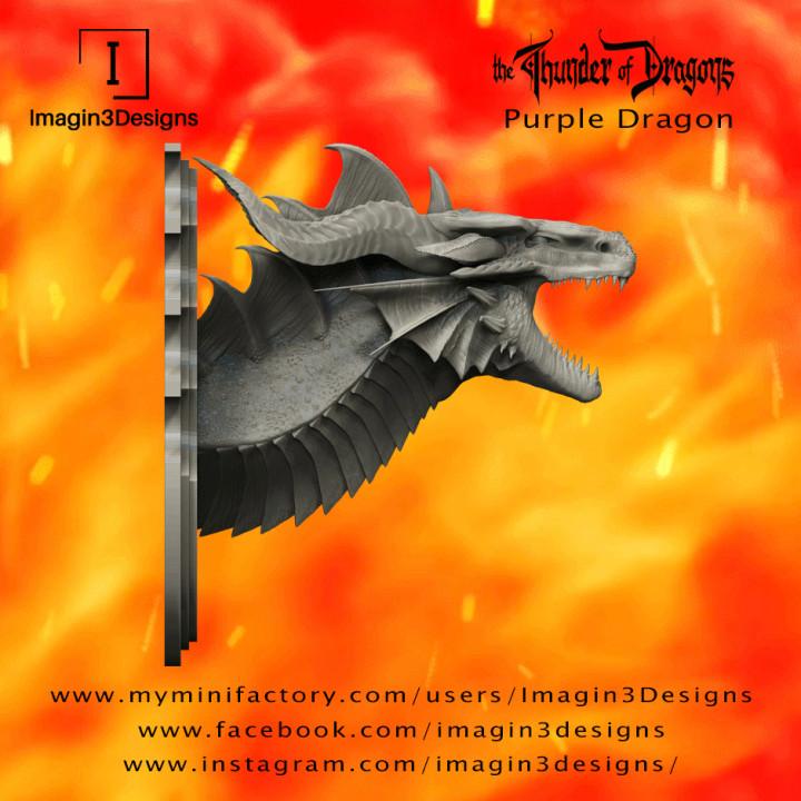 PRE-SUPPORTED Venix'aitrix -The Curse of Iodel- The Purple Dragon's Cover