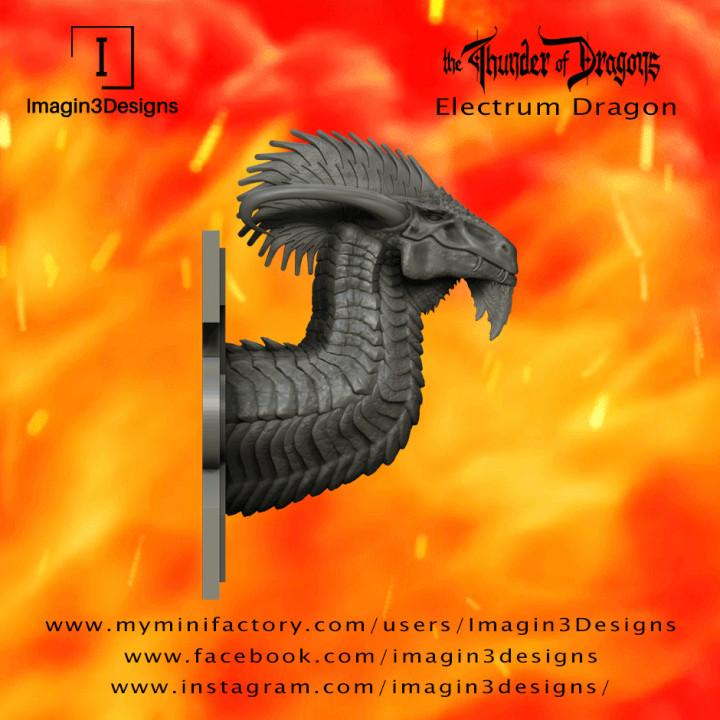 PRE-SUPPORTED Syliz'veniz -The Glamorous- The Electrum Dragon's Cover