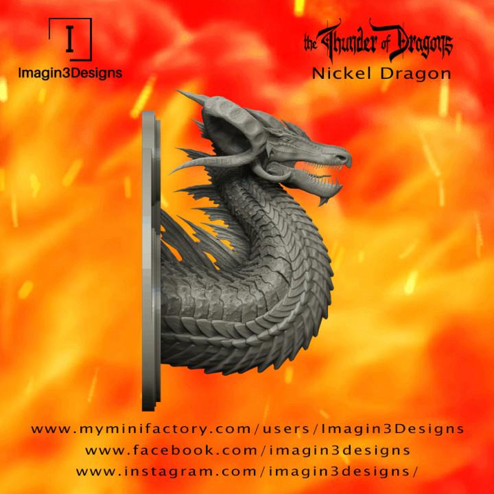 PRE-SUPPORTED Gilafin'odax -The Iconoclast- The Nickel Dragon's Cover