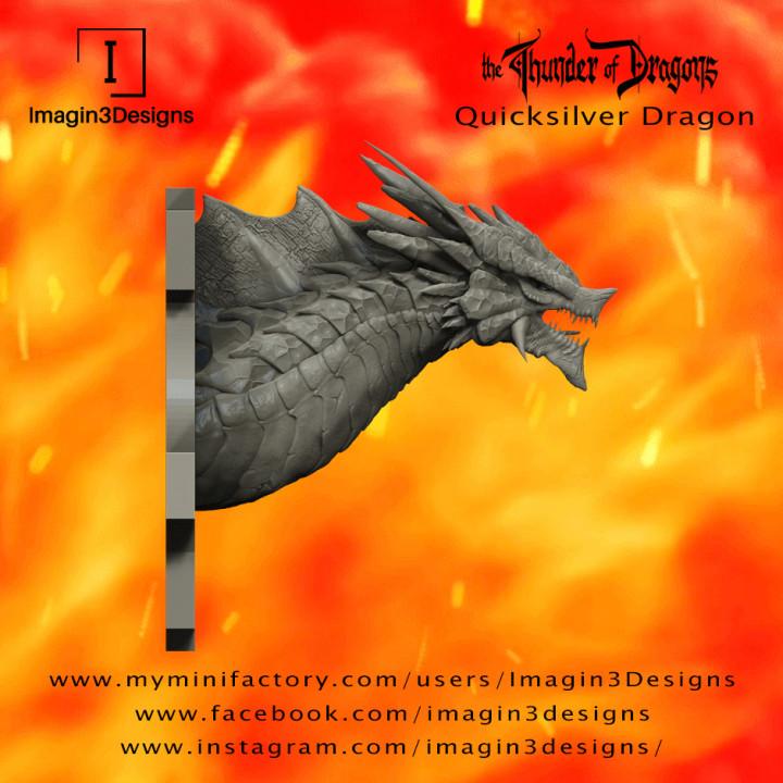 PRE-SUPPORTED Shofa'shocaz -The Deceiver- The Quicksilver Dragon's Cover