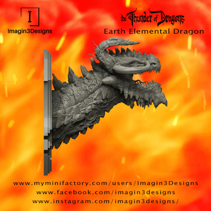 PRE-SUPPORTED Loyid'famix -The Entropy of Creation- The Earth Elemental Dragon's Cover