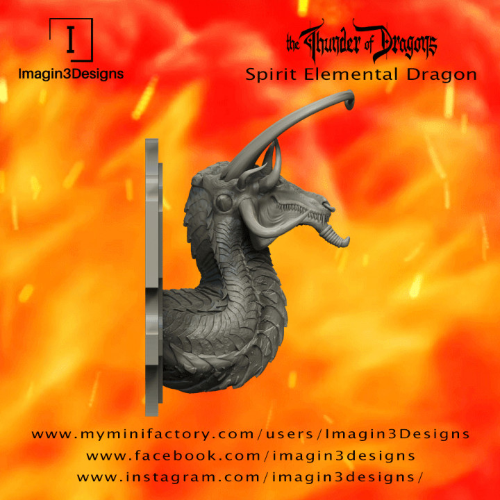 PRE-SUPPORTED Jun'hildax -The Tumultuous Energy- The Spirit Elemental Dragon's Cover