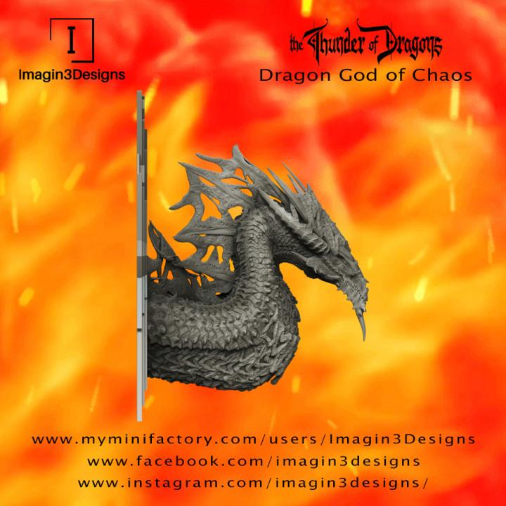 PRE-SUPPORTED Kroso'ativashiz -Daemon of Change- Dragon God of Chaos's Cover