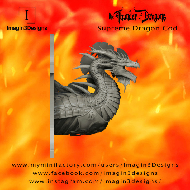PRE-SUPPORTED Bilatox'nodithax -Dyad of Absolution- The Supreme God of Dragons's Cover