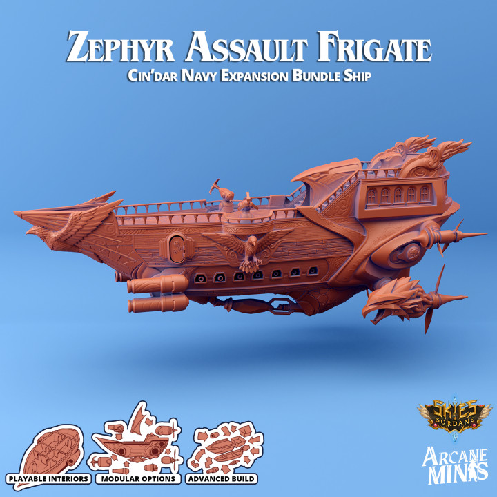 Airship - Zephyr Assault Frigate's Cover