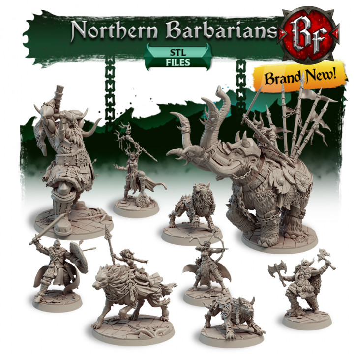 STL Northern Barbarians's Cover