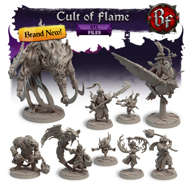 STL Cult of Flame's Cover