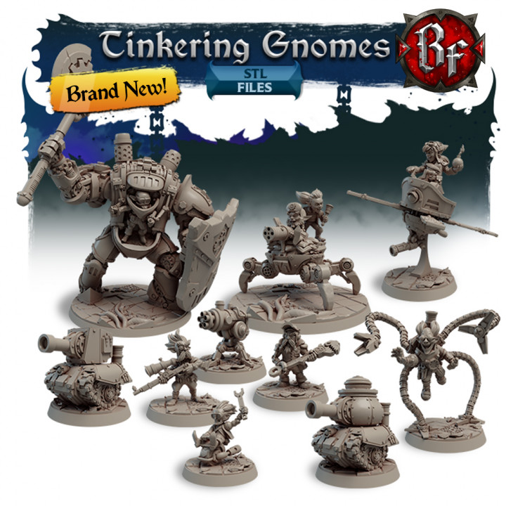 STL Tinkering Gnomes's Cover