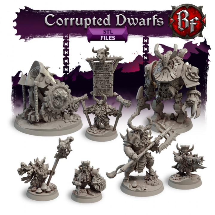 STL Corrupted Dwarfs's Cover