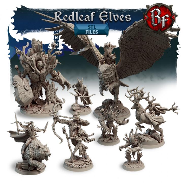 STL Redleaf Elves's Cover