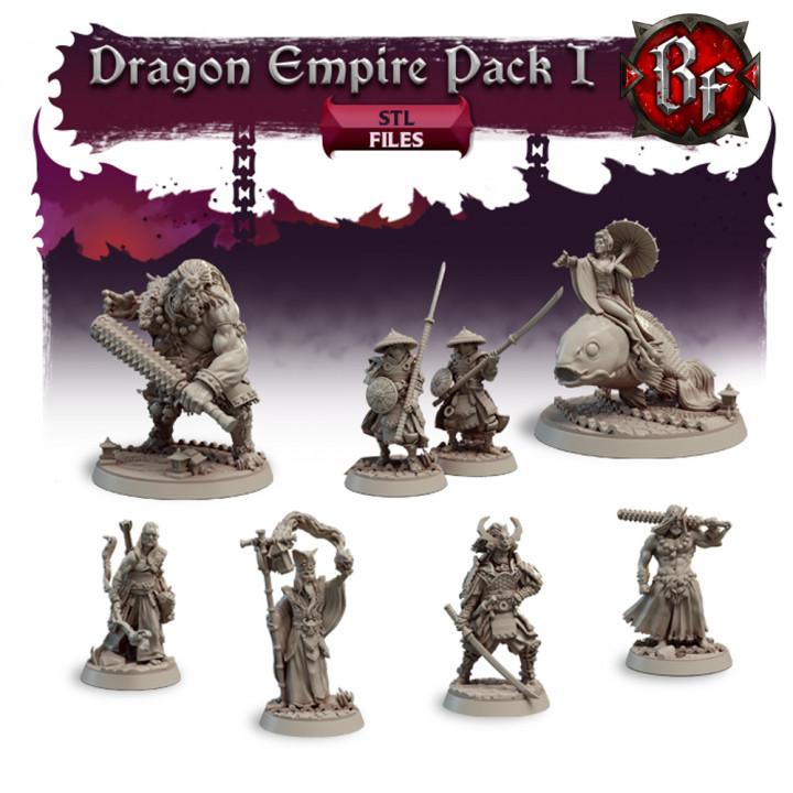 STL Dragon Empire Pack 1's Cover