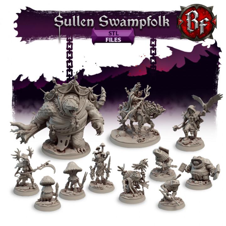 STL Sullen Swampfolk's Cover