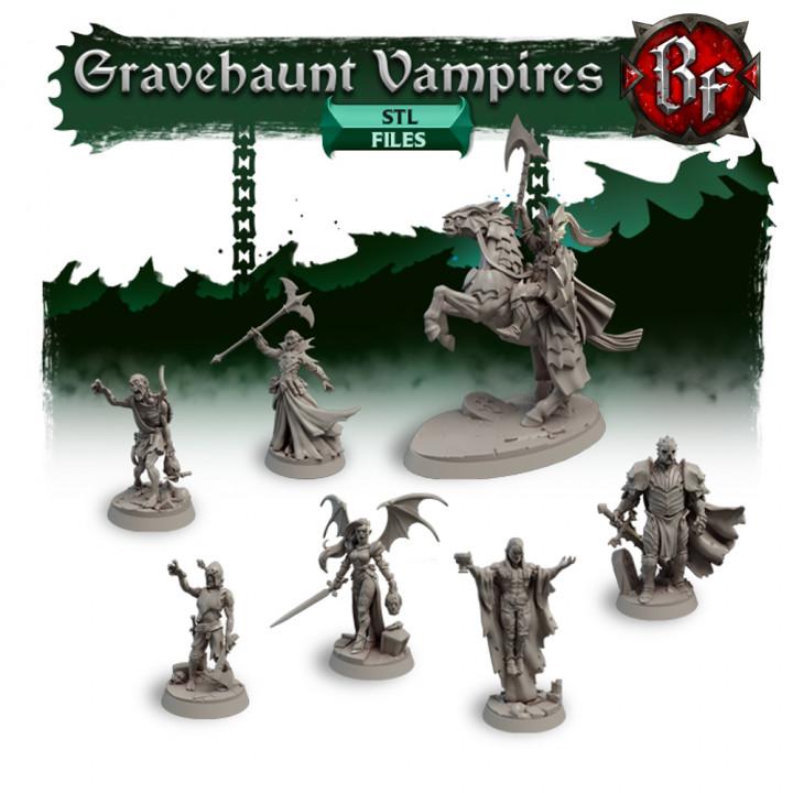 STL Gravehaunt Vampires's Cover