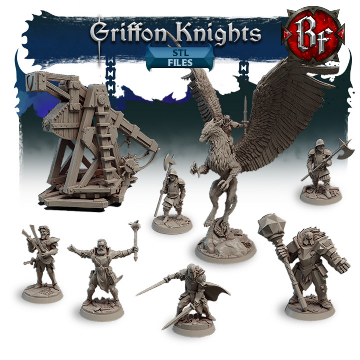 STL Griffon Knights's Cover