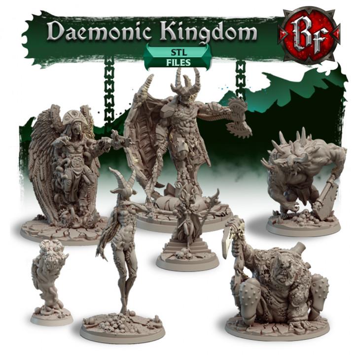 STL Daemonic Kingdom's Cover