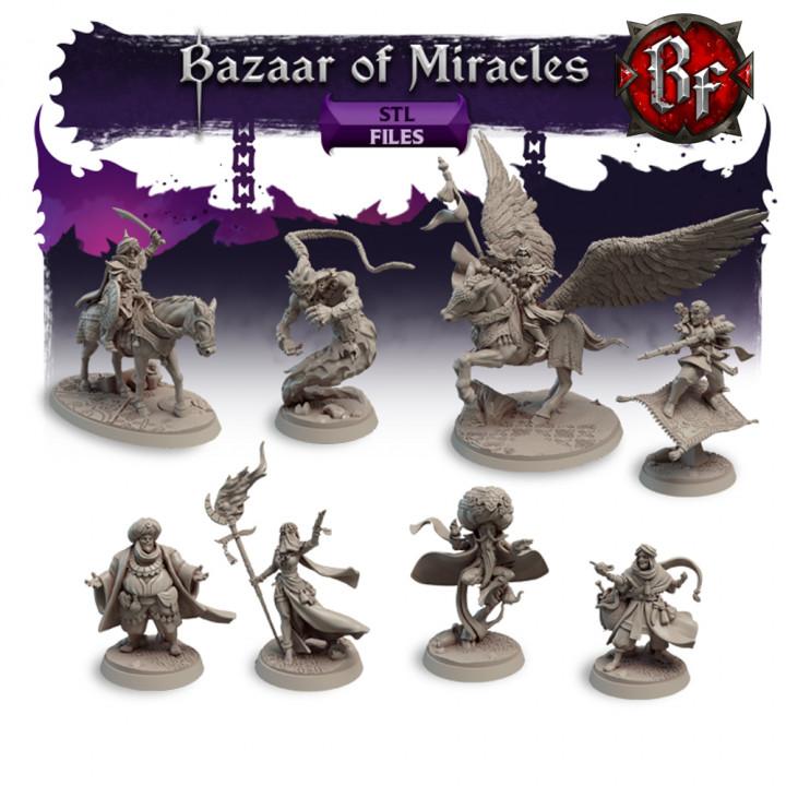 STL Bazaar of Miracles's Cover