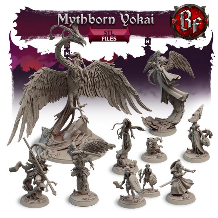 STL Mythborn Yokai's Cover